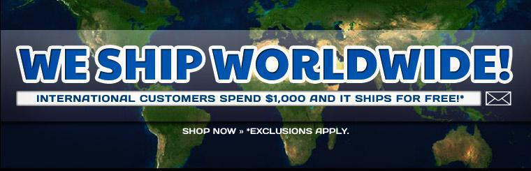 International customers spend $1,000 and it ships for free! Click here to shop.